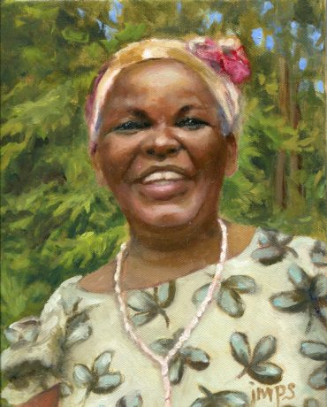 Mama 10x8 oil on canvas